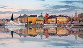 Cidade velha de Estocolmo, Sweiden — Fotografia Stock