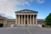 美術、ブダペストの博物館の建物 — ストック写真