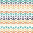 Seamless Colorful Sailboat Pattern — Stock Photo #56185679