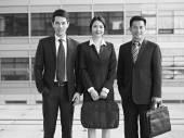 Asiatiska affärsmän — Stockfoto