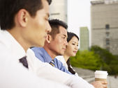 Asian businesspeople — Stock Photo