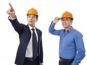 Asian businessmen — Stock Photo