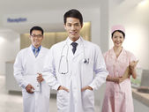 Asian medical professionals — ストック写真