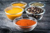 Cooking ingredients, spices, herds — Stock Photo