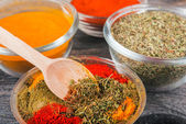 Close up exotically spice mix — Stock Photo
