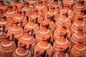 Turkish clay pots — Stock fotografie