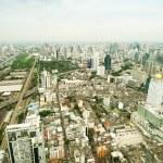 Panorama view over Bangkok — Stock Photo #56289307