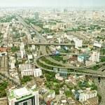 Panorama view over Bangkok — Stock Photo #56289499