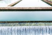 Moderní městské čistírny odpadních vod — Stock fotografie