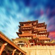 Traditional ancient Chinese architecture — Stock Photo #56450241