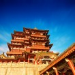 Traditional ancient Chinese architecture — Stock Photo #56450965