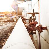 Ropy naftowej i gazu, zakład przetwórstwa — Zdjęcie stockowe