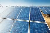 太陽光発電パネル — ストック写真