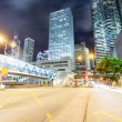 Hong Kong night view with car light — Stock Photo #57697269