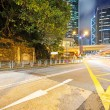 Hong Kong night view with car light — Stock Photo #57701567