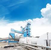 Olie en gas verwerkingsbedrijf — Stockfoto