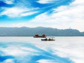Enchanting West Lake, Hangzhou, China — Stock Photo