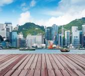 Puerto de Hong kong — Foto de Stock
