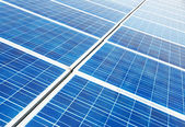 Panel for photovoltaic power generation — Stock Photo