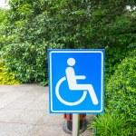 Using wheelchair ramp — Stock Photo #57784117