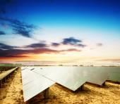 Solar panels — Stock Photo