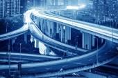 Shanghai interchange overpass — Foto Stock