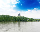 Enchanting West Lake, Hangzhou — Stock Photo