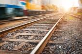 Yol ileri demiryolu — Stok fotoğraf