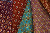 Cultural fabric of Thailand. — Foto de Stock