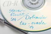 Tax evasion CD — Stock Photo