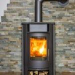 Wood burning stove — Stock Photo #71671451