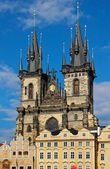 Church of Mother of God in front of Tyn, Prague — Stockfoto