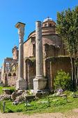 The Temple of Romulus (The basilica of Santi Cosma e Damiano), R — Stock Photo