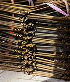 Metal armatures detail — Stock Photo