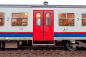 Open doors from a train — Stockfoto