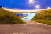 Bajo el puente — Foto de Stock