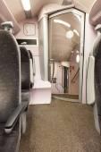 Vlaku sedadel — Stock fotografie