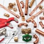 Plan plumber — Stockfoto #59409031