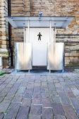 Offentlig toalett — Stockfoto
