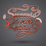 Success text design — Stock Vector #52635379