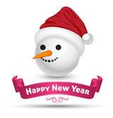 Prettige kerstdagen en gelukkig nieuwjaar — Stockvector