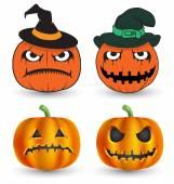 Halloween element printing and website — Stockvektor