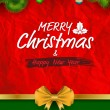 Merry Christmas and happy new year — Stock Vector #58770677