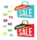 Banner sale for promotion — Stock Vector
