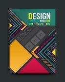 Design Cover and brochure template — Vector de stock