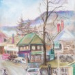 Little town — Stock Photo #72841221