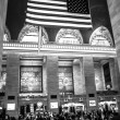 Grand Central Station in Black and White — Stock Photo #64388333