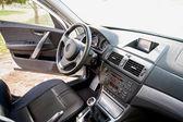 Dentro del coche — Foto de Stock