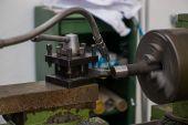 Lathe machine — Stock Photo