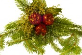 Decorations for Christmas and New Year holidays. — Stock Photo